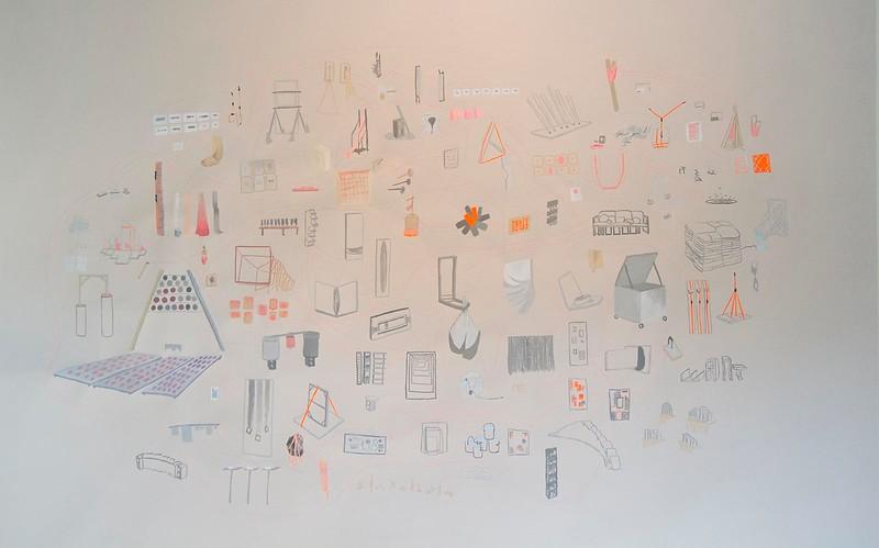Lily Kuonen, PlayntingssgnitnyalP, May 2014, Installation View