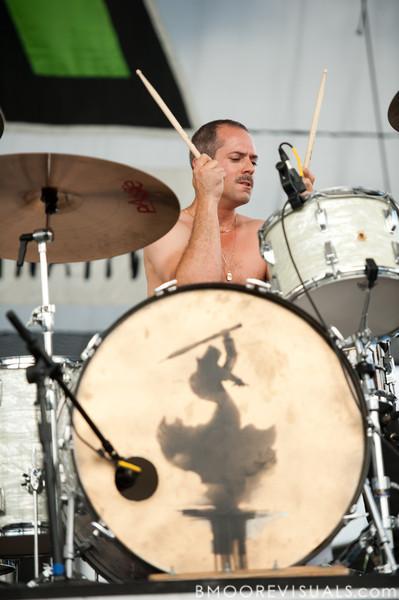 Jason Morris of Crash Kings performs on May 29, 2010 at 97X Backyard BBQ at Vinoy Park in St. Petersburg, Florida