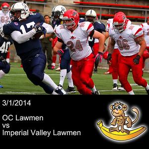 2014-03-01 OC Lawmen VS Imperial Valley Lawmen