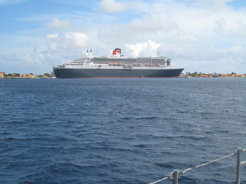 Another shot of the QM2.
