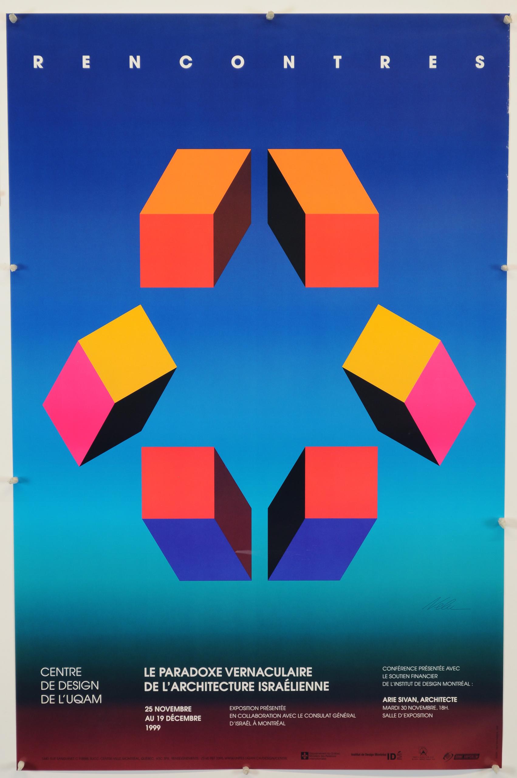 1999 - Exposition - Rencontres Le paradoxe vernaculaire de l'architecture israélienne ©Nelu Wolfensohn