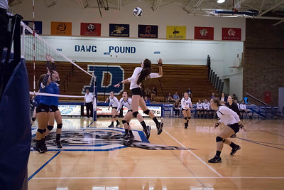 DHS Volleyball 08-22-2016