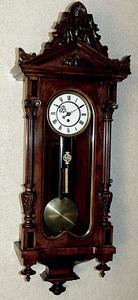 VR-173 - Altdeutsche Vienna Regulator timepiece by Gebrueder Resch