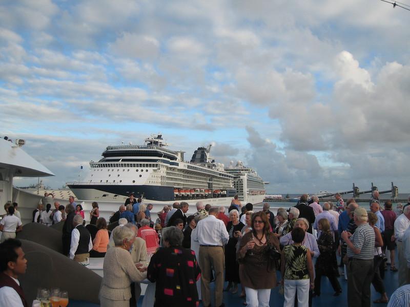 Bridgetown, Barbados, Sail Away party