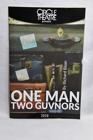2-1-2020 One Man Two Guvnors Opening  @ Circle Theatre