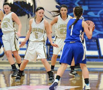 Basketball - LHS Girls 2013-14 - District Chapionship