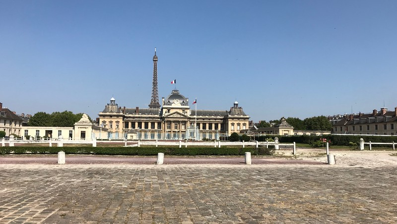 Military Academy.  Napoleon was trained here
