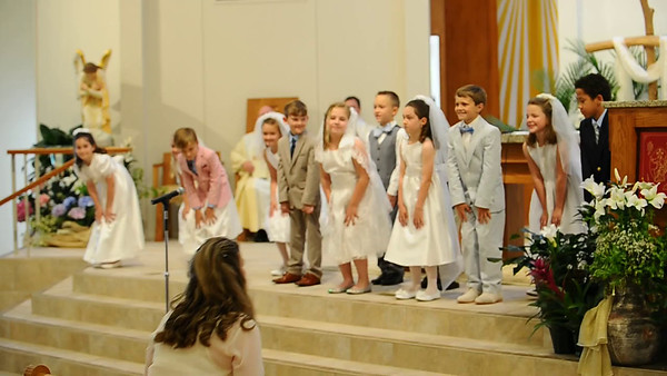 HFS 1ST COMMUNION 2015