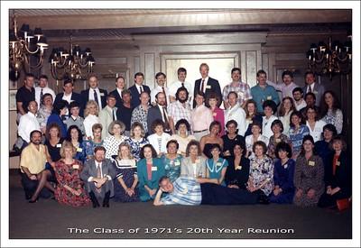 '71 - 20th Year Reunion