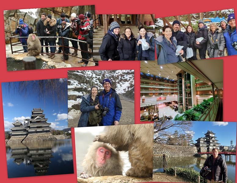 Day 5, Jan 9th Thurs: Yudanaka Onsen & Snow Monkeys - Kyoto