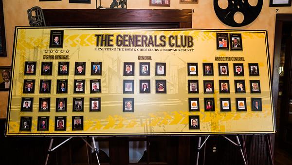 Generals Club Social 11.1.2018