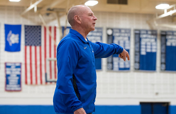 01/28/20 Wesley Bunnell | StaffrrSouthington girls basketball defeated Hall in a home contest on Tuesday night. Head coach Howard Hewitt