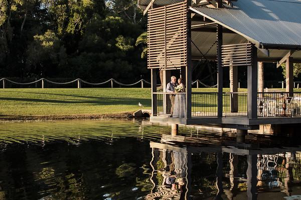 Kath & Dale: Sandstone Point Hotel Wedding