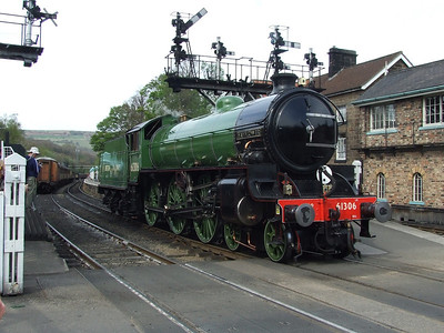 61306 Mayflower NYMR 6th May 2013