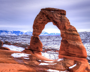 Arches National Park WInter 2016