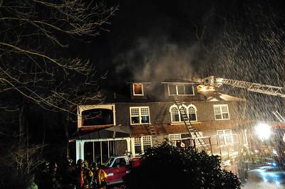 Building Fire - Swarthmore