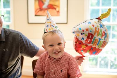 2019-06-20 John's third birthday party