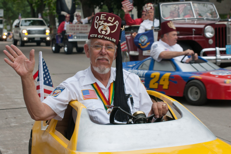 World War veterans at the Appleton Flag Day Parade