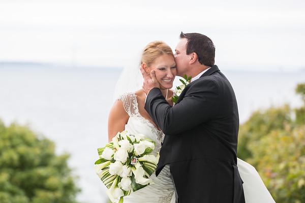 BrieAnna + Scott | Mackinac Island Wedding
