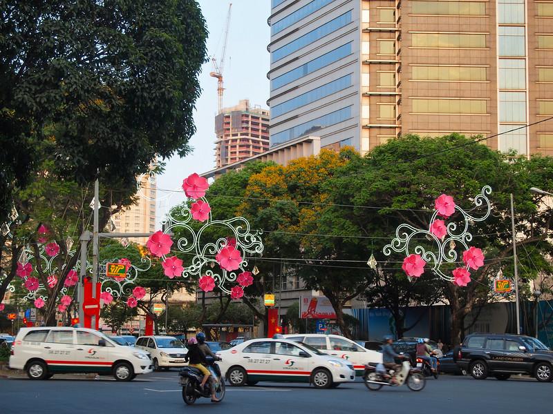 Street in Ho Chi Minh City