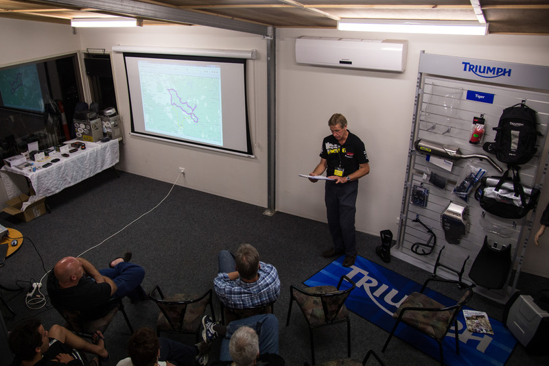 The event featured nightly presentations on Overland Travel, GPS Navigation and Trip Preparation