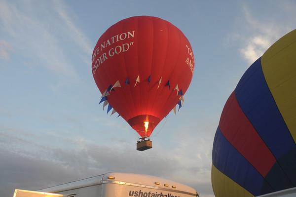 Amish balloon surprise