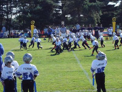 Shelby Lions Football Club - 2005 Flag Team