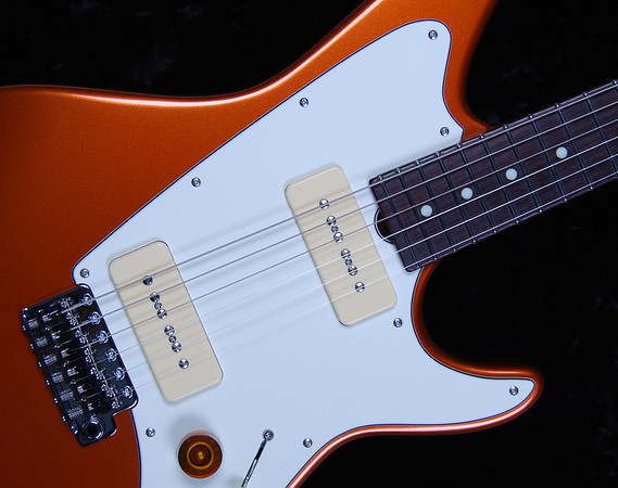 ElectraJet Custom, Copper Metallic, G90 Pickups
