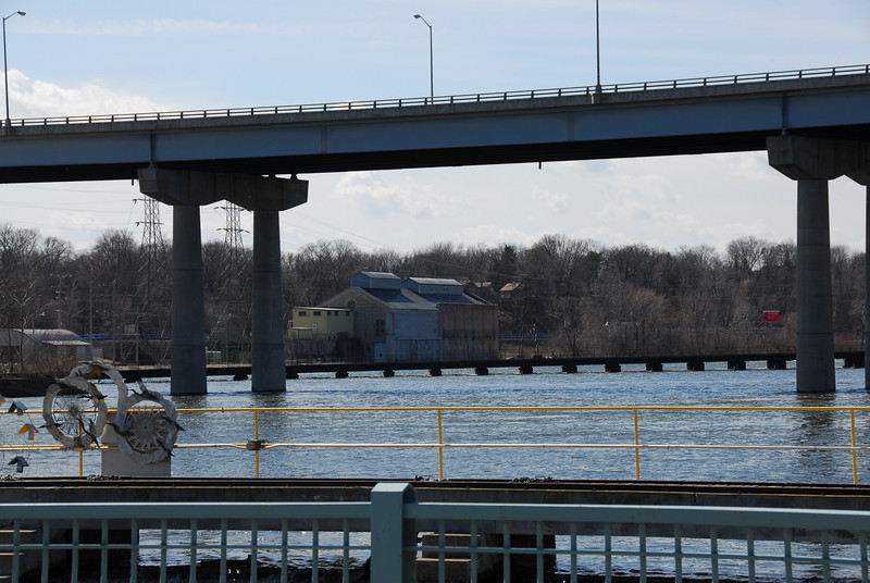 Wisconsin Route 47 Bridge in Fox River, Appleton, Wisconsin