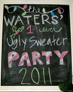 Uglly Sweater Party - 2011
