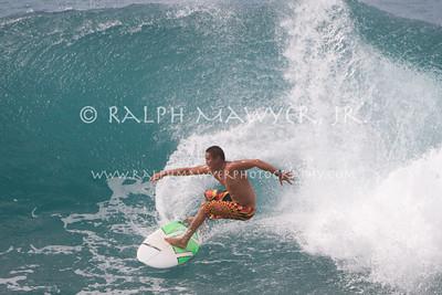 Surfing - Honolua Bay, Maui 31 Jan 2011