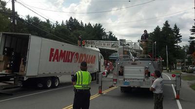 Truck Strike - Main St. Bridge - Sept. 2,2012