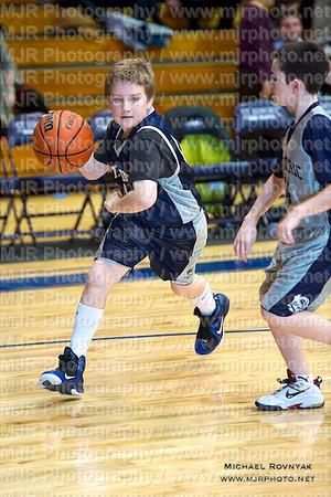 St Anthonys VS St Dominics, Boys Varsity Basketball 01.28.12