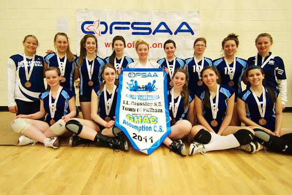 OFSAA Assumption C.S. Girls Volleyball 2011