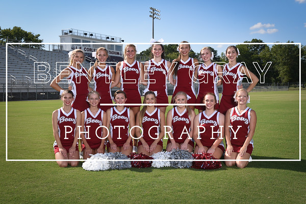 BHS Cheer Pictures 2016