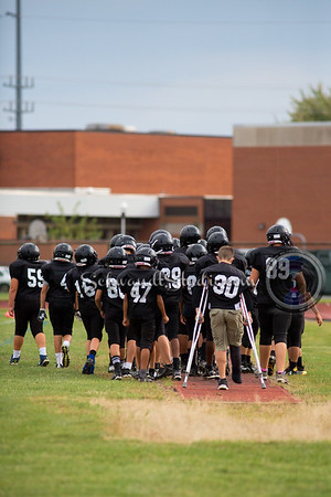 Hilliard Heritage 7th Grade Football 2015