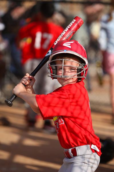 Brayden's Baseball Game - May 8, 2014