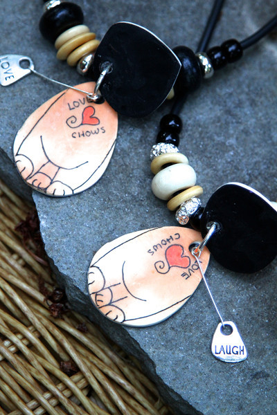 One of a kind Polymer Clay designs by Sandra Miller ©2012