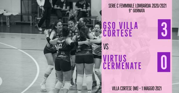 LOM-Cf: 9^ GSO Villa Cortese - Virtus Cermenate