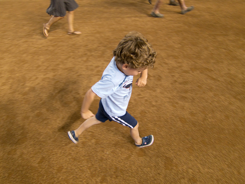 Arm position is critical to a good home run trot