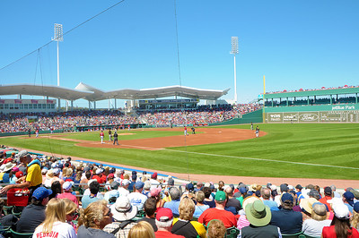 RedSox v Pittsburgh, Jetblue Park, Fenway South, Ft Myers, Florida