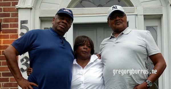 Burrus Family Fred Visit South Orange