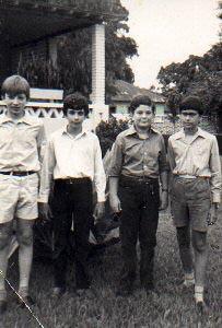 Pedro Cadete, David Luna, Jorge Duarte e Luis Valente O Bom, o mau, o gordo, e o vilao)