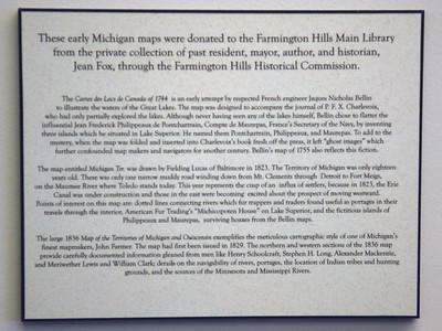 Jean Fox Map Dedication 11-13-05
