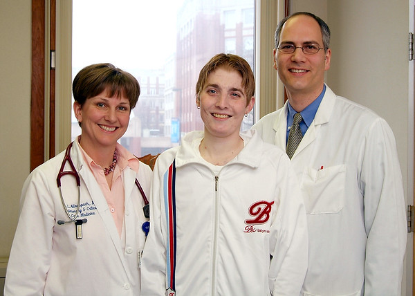 Double-Lung Transplant - youngest patient 2006