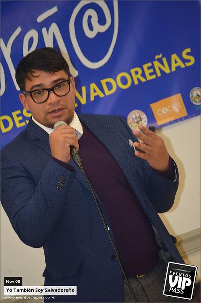 Yo Tambien Soy Salvadoreno - Primera Cumbre de Jovenes Salvadoreños | Sat, Nov 08