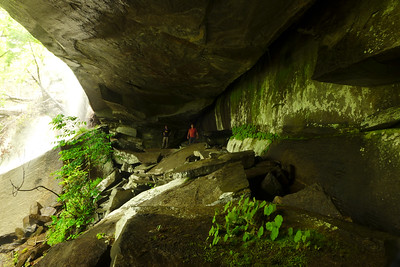 Caves along Emory Creek Tributary