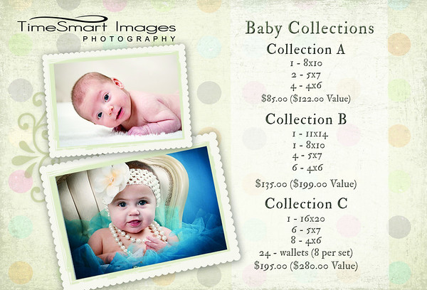 Baby + Toddler Collections + Pricing