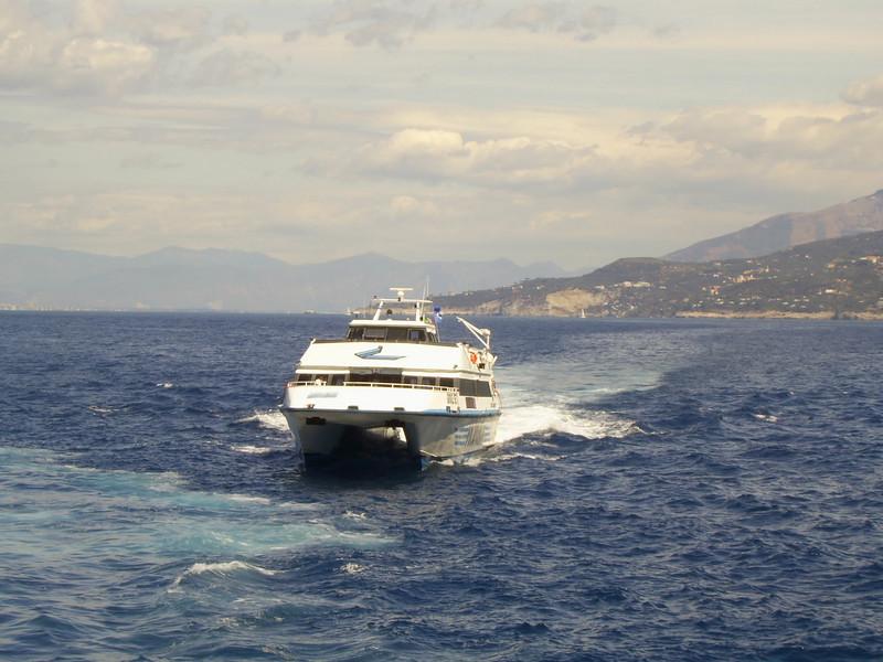 GIOVE JET at sea.