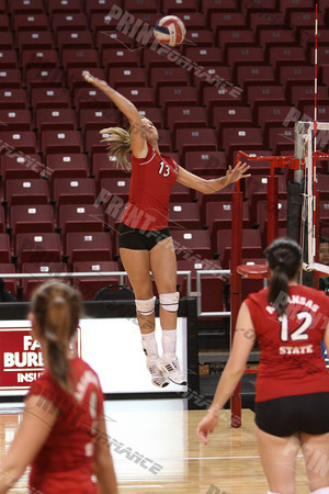 ASU vs Troy Volleyball 09